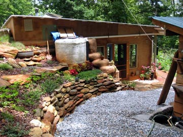The Goodies Life The Stones Earthship Home Gardens